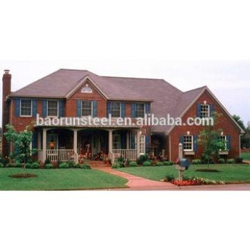 Cold formed steel frame prefab house steel structure building