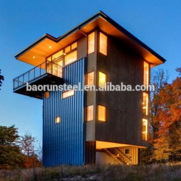 Prefab metal structure home