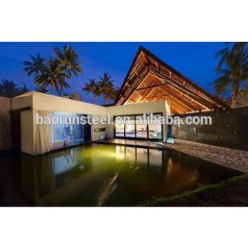 Australian standard luxury fashion style steel structure house, prefab house/villa