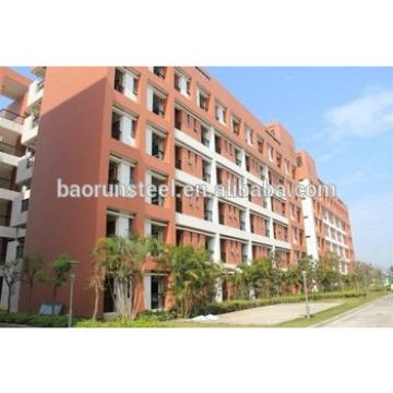durable light steel apartment building, beautiful prefab apartment