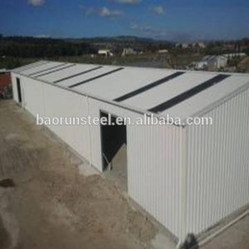 Modern cheap prefab steel structure chicken farm