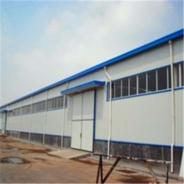 Modern steel structure workshop in Brazil