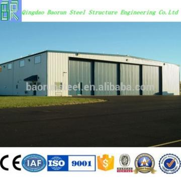 Steel structure prefabricated airplane hangar