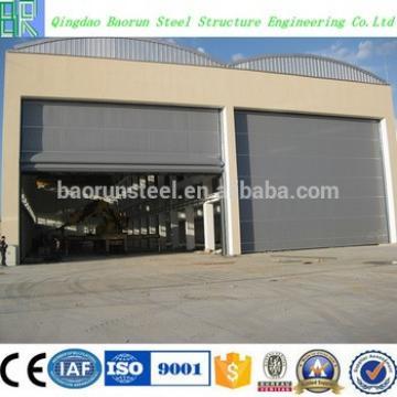 ISO 9001 pre engineering light steel galvanized hangar
