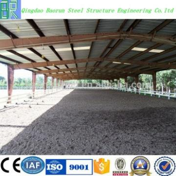 Steel structure prefabricated horse barn
