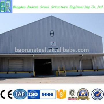 Low cost industrial shed design prefabricated barn