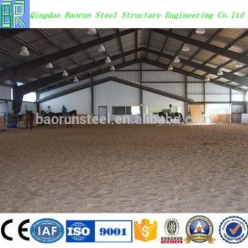 High Quality Prefabricated steel structure cow shed