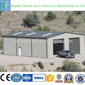 High quality steel frame prefab garage used