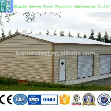 China cheap prefab garage used with roller door