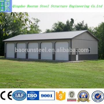 Low Price Prefab Steel Structure Car Garage