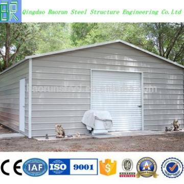 China supplier good quality prefab steel garages