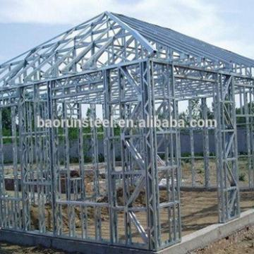 low cost steel frame building