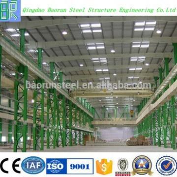 Pre Engineering Low Cost Prefab Warehouse in Europe