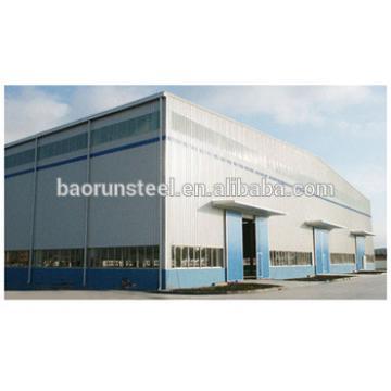 modern steel storage building