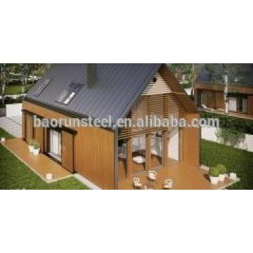 beautiful villa prefab house suppliers from China