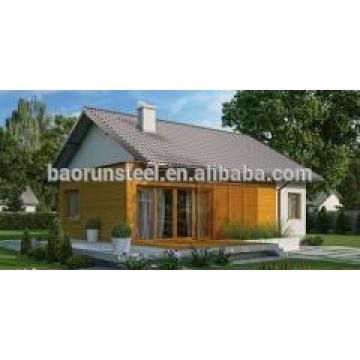 CE cerciticate modern prefabricated cottages made in China