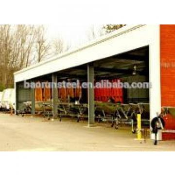 Customizable steel warehouse buildings