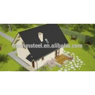 low price living villa steel building