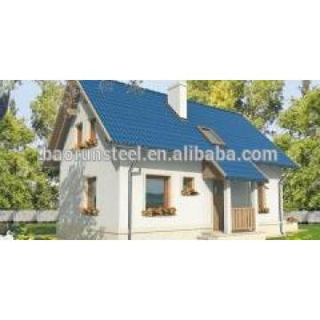 low price Prefab Steel villa made in China