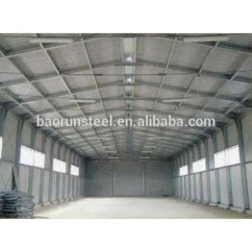 on-site installation steel warehouse buildings