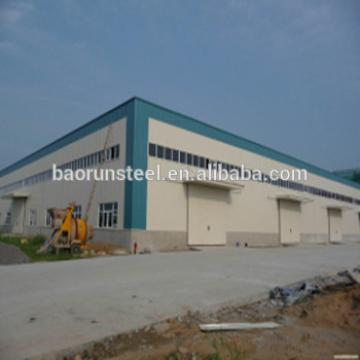 Metal construction materials light steel structure prefabricated building