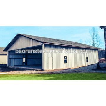 Energy efficient construction steel buildings