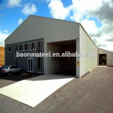 Low price steel structure warehouse quick build industrial building