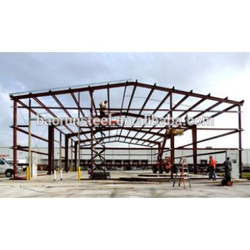 pre-engineered steel shop building