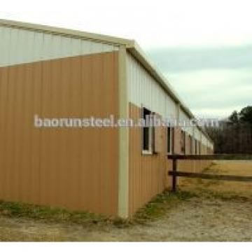 high quality light steel structure building