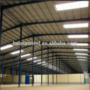 Steel beams process steel structure prefabricated hangar