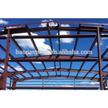 wide open steel building