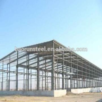 Prefabricated Steel workshop/hangar/warehouse/hall light steel structure price