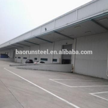 Hot Dip Galvanized Warehouse Building for Storage, large span steel workshop