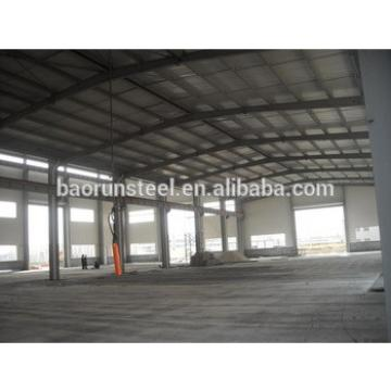 Professional design prefabricated steel workshop