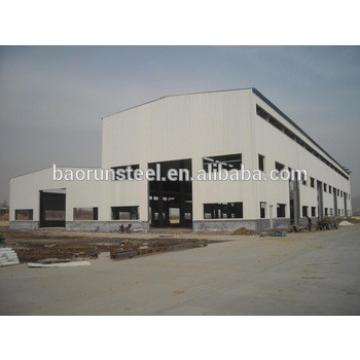 Large Span Light Gauge Steel Structure Halls/factory/shed/barn/hangar/Workshop
