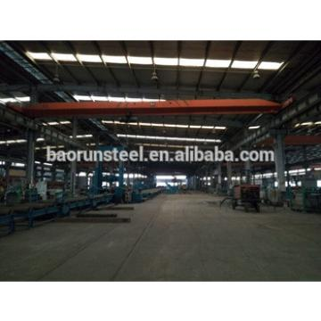 Large span light steel frame prefabricated workshop
