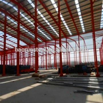 Low cost prefab steel structure aircraft hangars