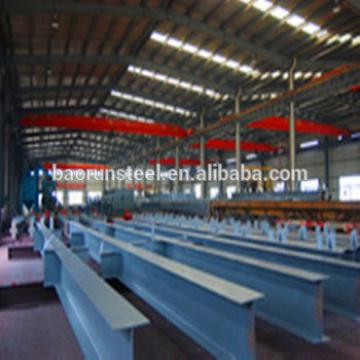 Prefabricated steel structure hangar with garage