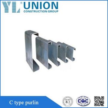 types of purlin, steel types of purlin