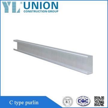 Construction Stainless C U Z Purlins Steel , Factory Z Shape Steel Purlin Z Channel Steel Beams Sizes for Sale
