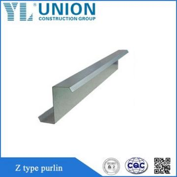 Z Purlin/Z Type Channel/Z Steel Channel For Building Materials