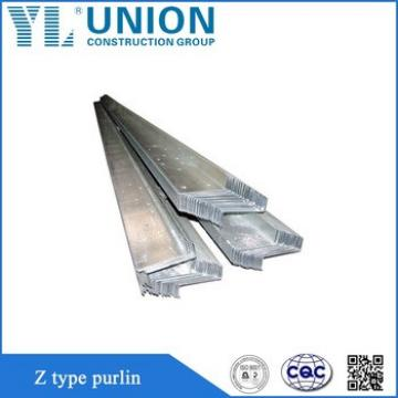 galvanized steel z purlin