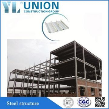 fast and easy construction two-storey prefab steel frame apartment building