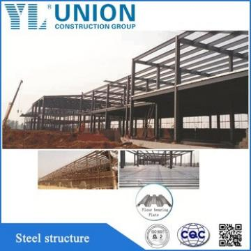 steel structure large span building fabrication design