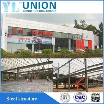 More popular Eco-friendly prefab light steel structure mobile car garage
