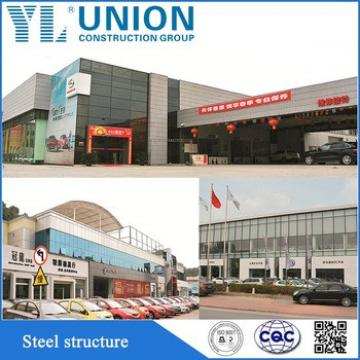 galvanized prefabricated steel structure car garage