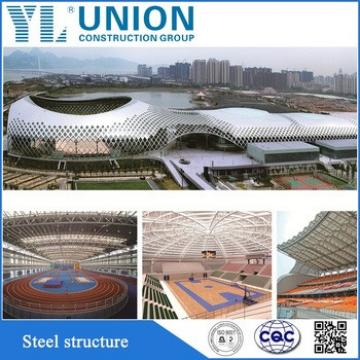 modern steel structure prefab gym building