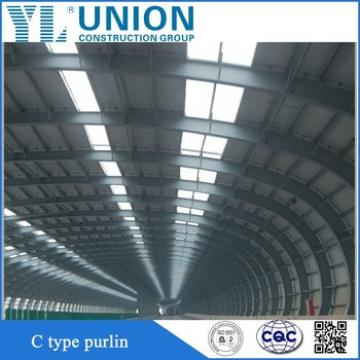 Hot rolled Galvanized c channel steel price for Steel Roofing