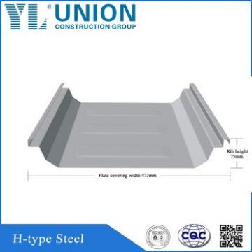 standing seam metal roofing/floor steel decking sheet