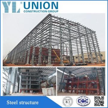 prefab galvanized steel structure building